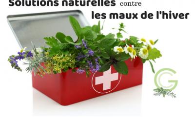 Naturopathie et solutions naturelles contre les maux de l'hiver
