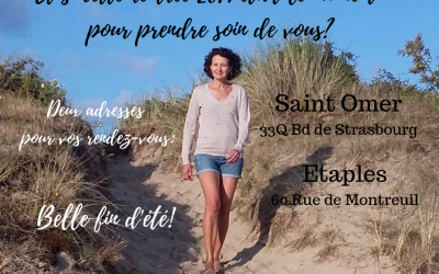 Nouveau: deux adresses pour vos rendez-vous: Saint-Omer ou Etaples.